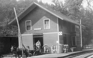 Historic Train Depot Photo